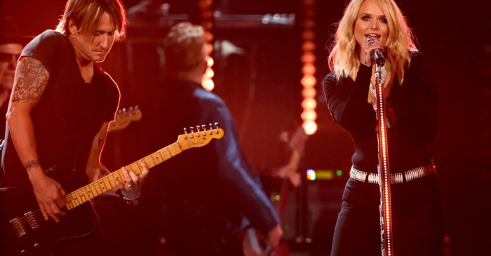 Keith Urban and Miranda Lambert set the place on fire with this collaboration
