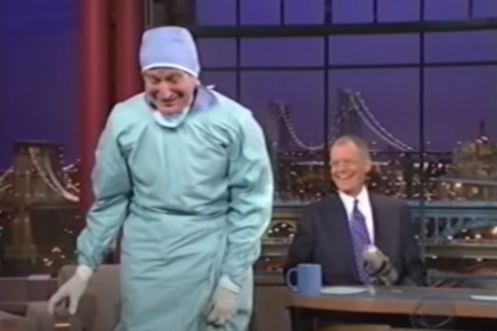 Robin Williams Cracked Up David Letterman After His Major Heart Surgery