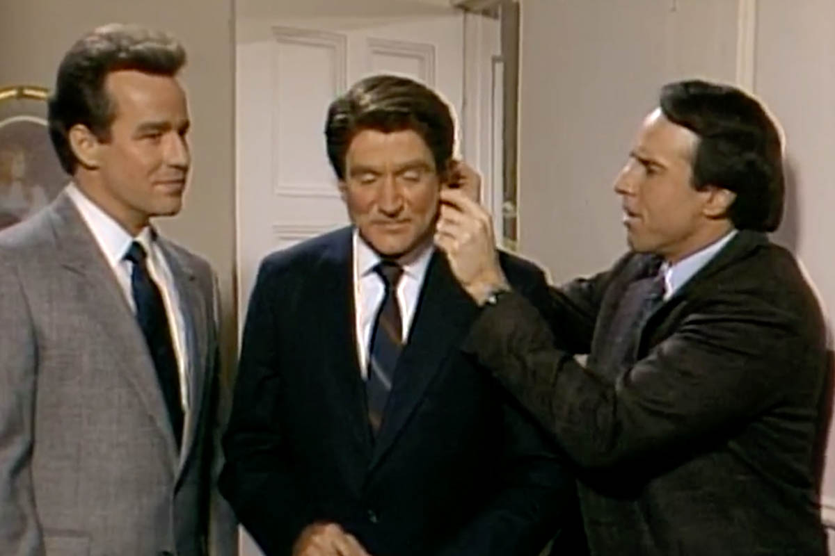 Robin Williams Ronald Reagan SNL