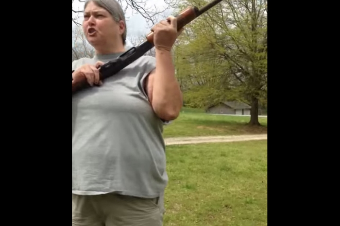 Southern Mamma Shoots Kids' iPhones with Shotgun for Disrespecting Her