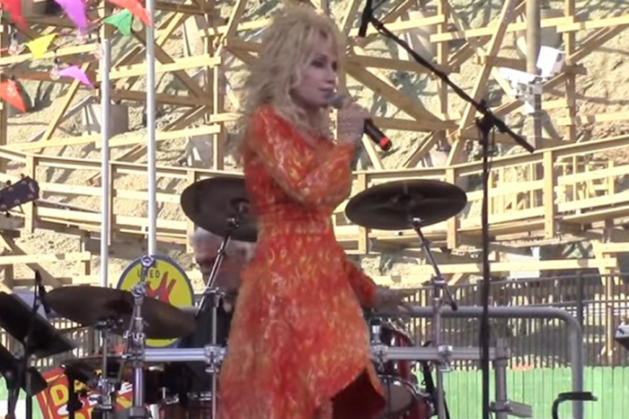 Fifty years later and Dolly Parton is still performing her very first radio single