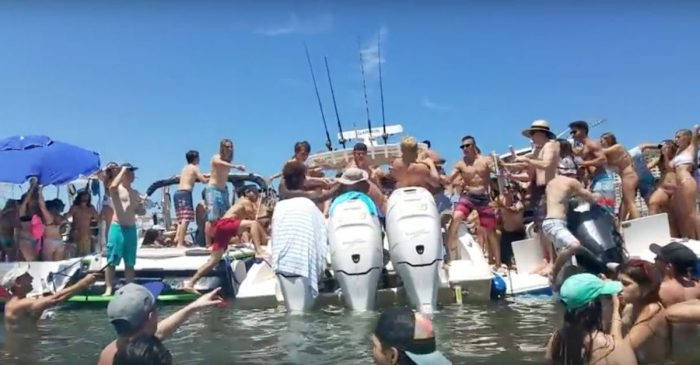 Drunk douchebags brawl on boat, and this is why we can't have nice things