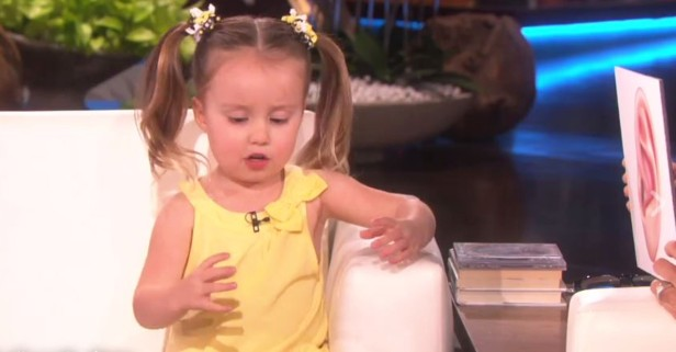 This little girl is a biology genius. Watch her explain to Ellen why people get dizzy