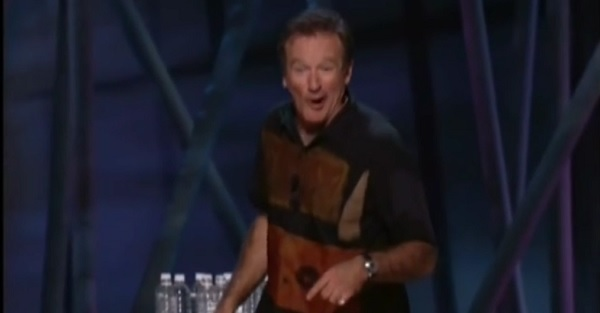 Robin Williams explaining why golf is stupid is still one of his best bits ever
