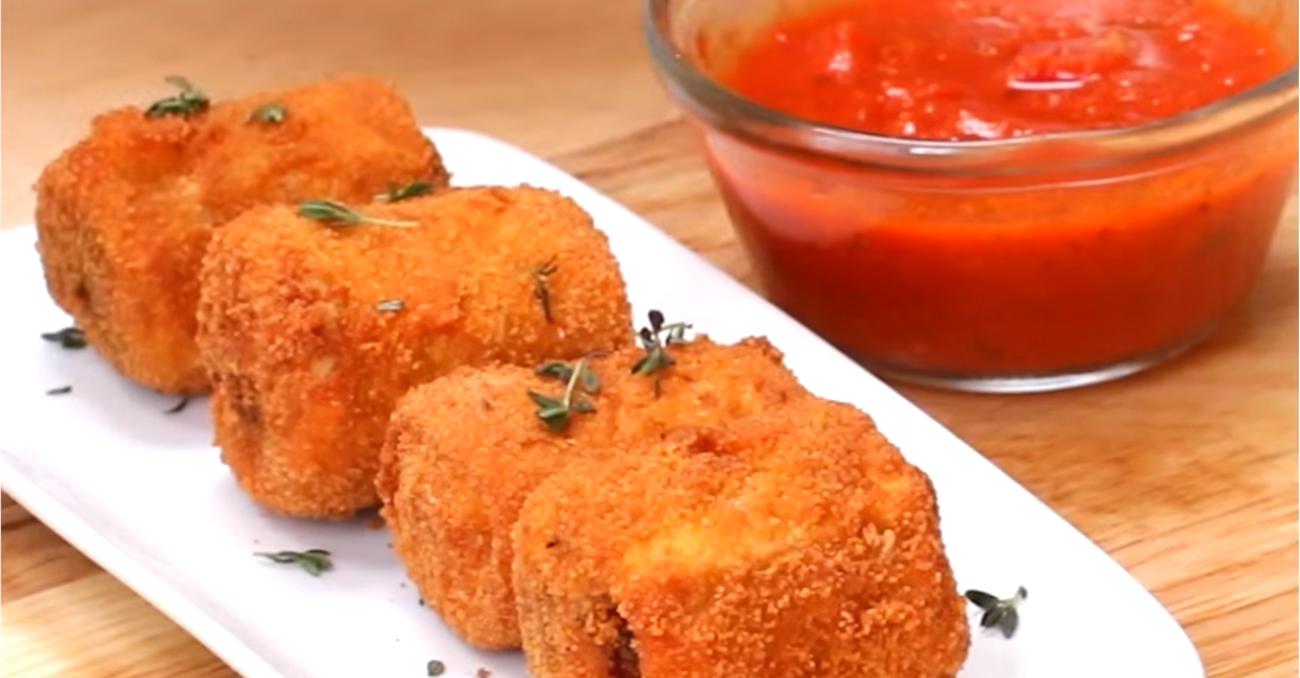 If you love fried ravioli, you'll go absolutely wild for these lasagna poppers