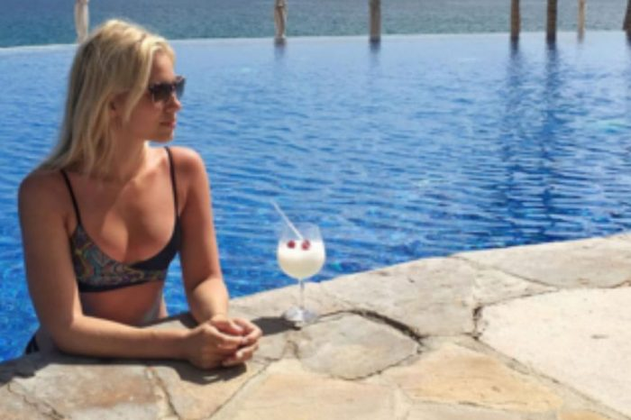 "Kristine Leahy from ""The Herd"" with Colin Cowherd shows her sexy side with these bikini pics"