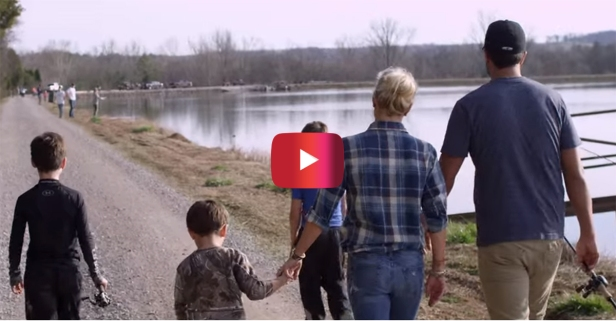Luke Bryan gives fans an intimate look at the people he loves the most in new music video