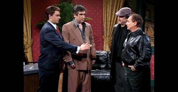 "Robert De Niro and Joe Pesci Show Off Their Natural ""Tough Guy"" Attitudes in this SNL Skit"