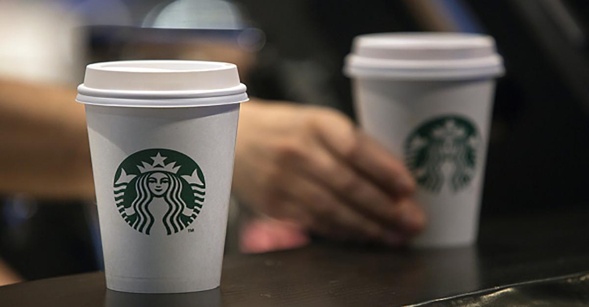 Get a free Starbucks ice tea today!