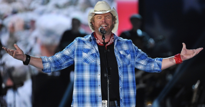 Toby Keith performs in Saudi Arabia for a male-only crowd
