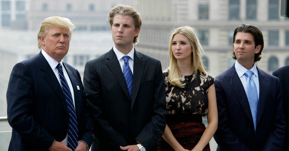 At least one of President Trump's children reportedly wants to take their own shot at the White House