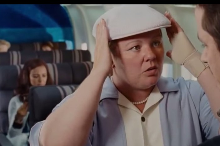 "Melissa McCarthy is easily the funniest thing about these ""Bridesmaids"" bloopers and outtakes"