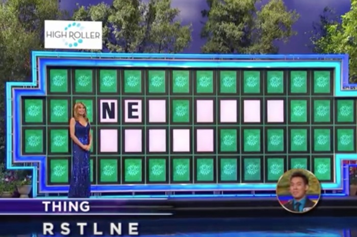 Pat Sajak and Vanna White still aren't sure how he solved this puzzle and we're with them 100 percent