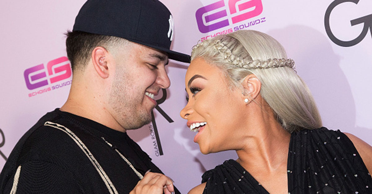 Rob Kardashian commemorated his one year anniversary with Blac Chyna by sharing this adorable video
