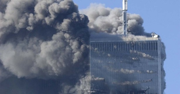 Heart wrenching video taken by college students shows moment when planes hit the Twin Towers on 9/11