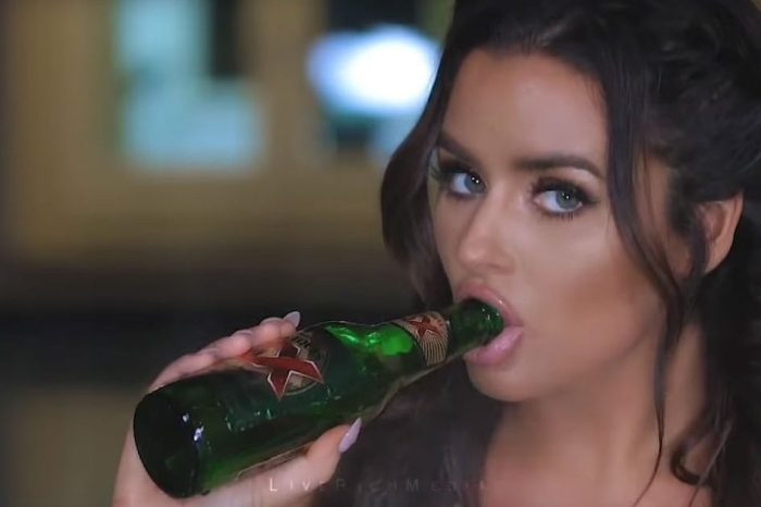 Abigail Ratchford drinks beer and teaches us how to peel a banana in this oh so sexy video