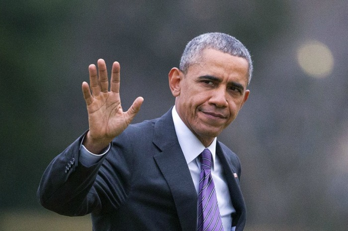 Barack Obama tweets first message since becoming private citizen again and lets the world know he still has work to do