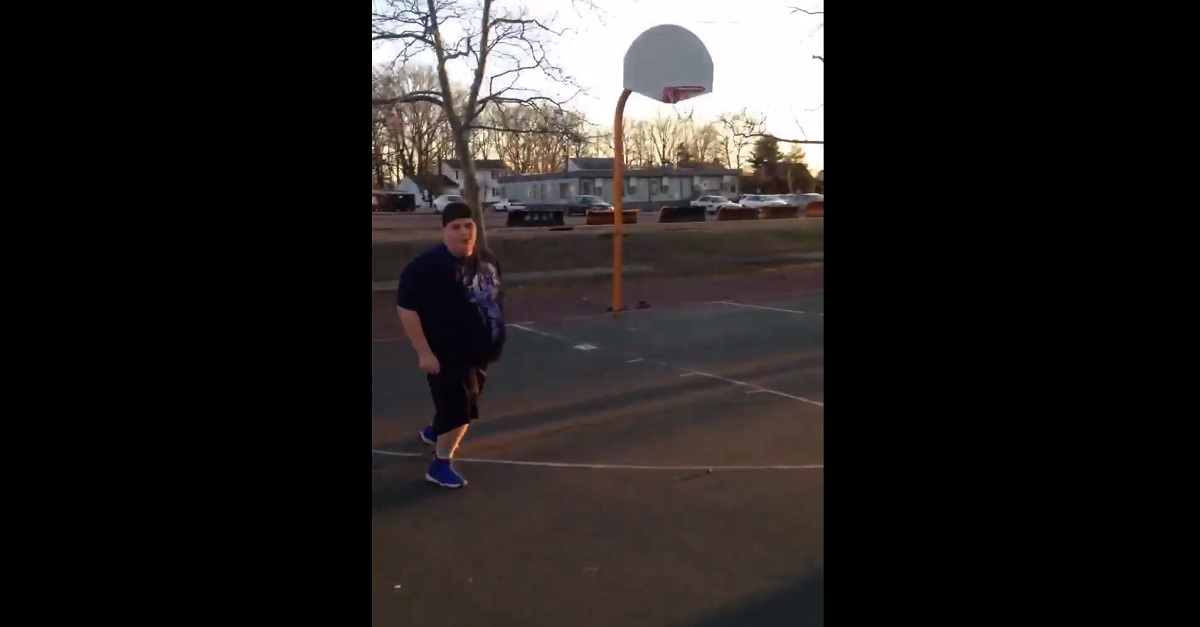 Jumpman, jumpman, jumpman: Fat kid stars in hilarious basketball mixtape