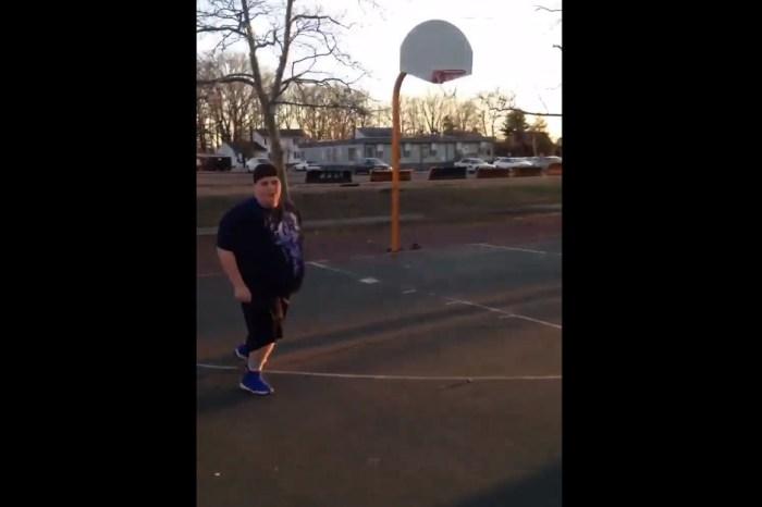 Jumpman, jumpman, jumpman: Fat kid stars in hilarious basketball mixtape