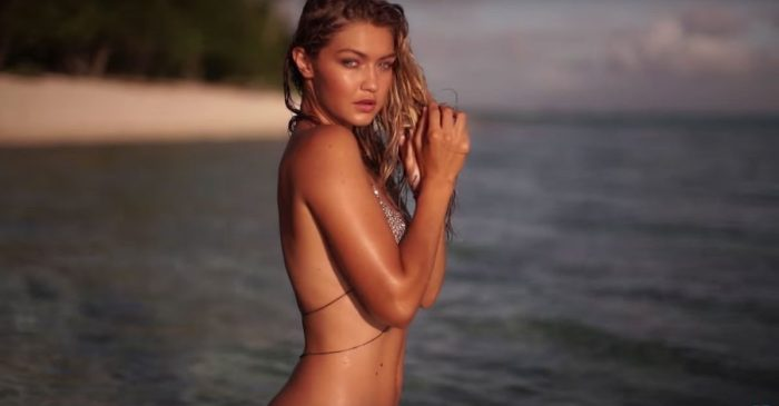 Gigi Hadid looks 10 different kinds of sexy in a bikini shoot that defines blazing hot