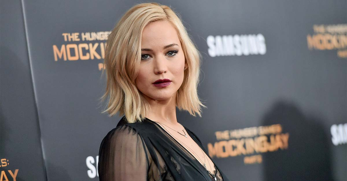 Fans are worried after Jennifer Lawrence's plane was forced to make an emergency landing following engine failure