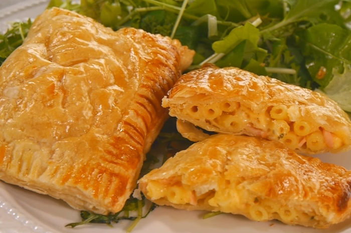They stuff homemade mac and cheese into puff pastry to reach the pinnacle of comfort food
