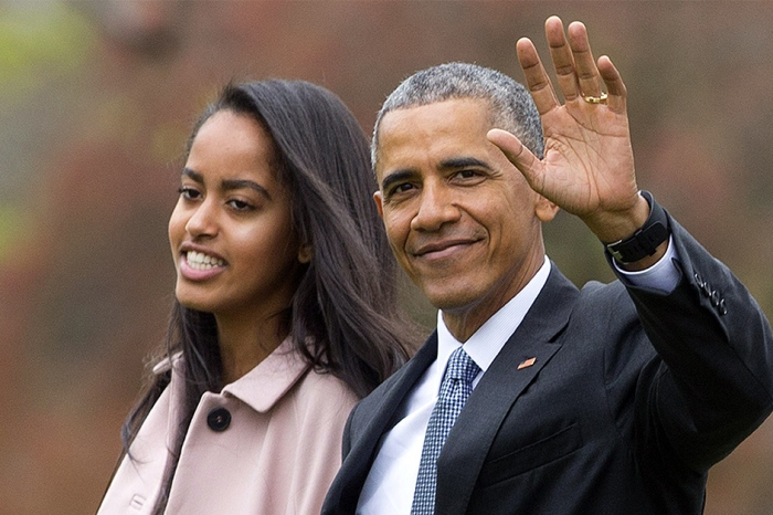 "Barack Obama revealed that he cried and was ""basically useless"" while dropping Malia off at college"
