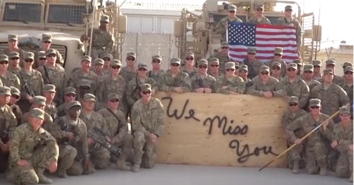 The country has officially fallen in love with this incredible Memorial Day tribute