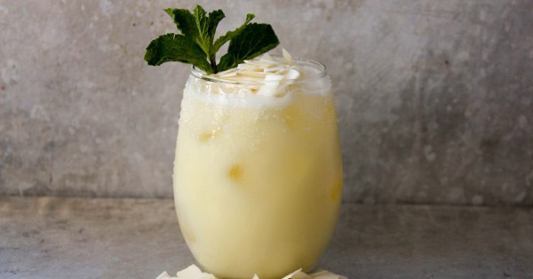 Can't Make It To The Beach? This Pineapple Coconut Margarita Will Make You Feel Like You're There!