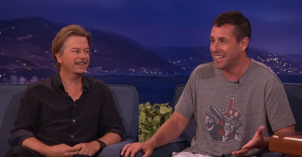 Adam Sandler Recounts the Time When Chris Farley Wanted to Beat Up David Spade on Conan