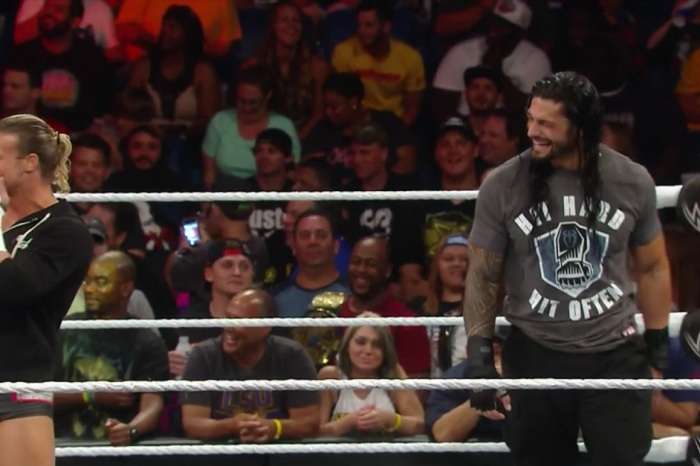 """Things got so funny on WWE """"Raw"""" that even the wrestlers had to laugh"""