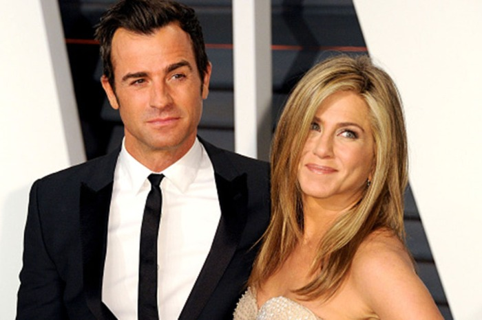 Jennifer Aniston and Justin Theroux reportedly hung out on Valentine's Day before announcing their separation