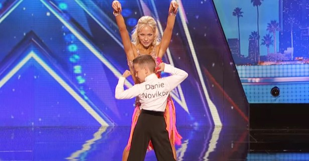 "This mom and son dance duo completely stunned the ""America's Got Talent"" crowd"