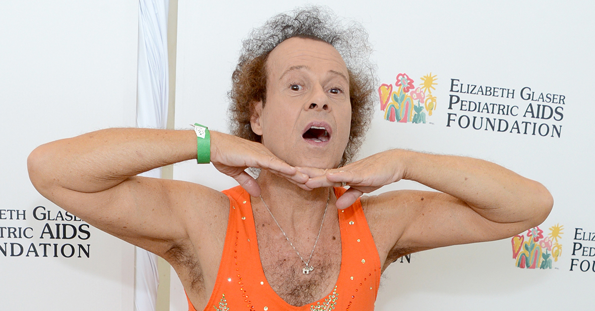 Richard Simmons is photographed for the first time in more than three years