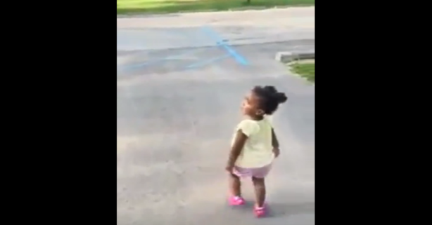 Adorable little girl adamantly argues with dad over how to count and she's not backing down