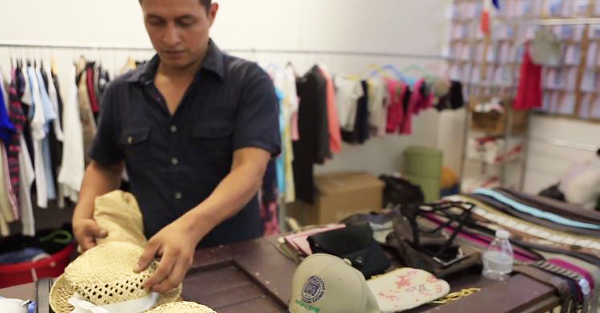 A business owner in Panama is selling his store items all for a good deed
