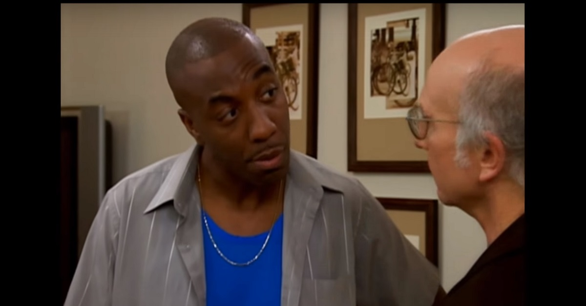 "J.B. Smoove and Larry David combined to make potentially the best scene from ""Curb Your Enthusiasm"""