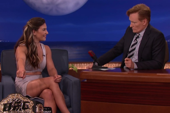 "Miesha Tate completely slammed Ronda Rousey during her appearance on ""Conan"""