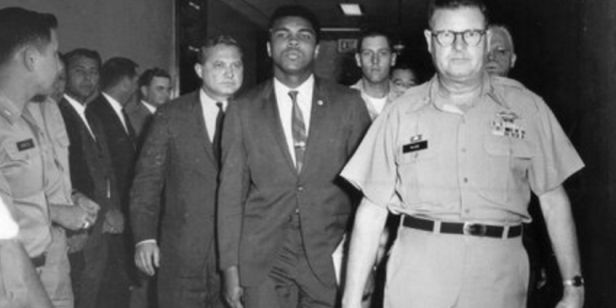Muhammad Ali was no draft dodger, but here are a bunch of famous people who were