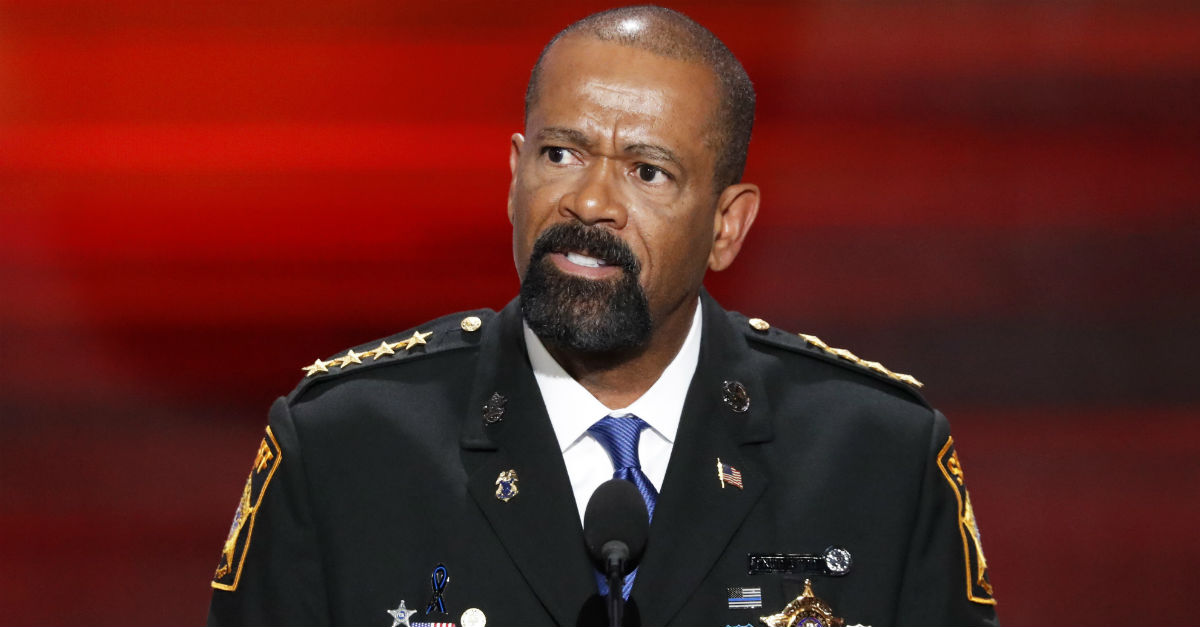 A Milwaukee man thinks Sheriff Clarke went a little too far when he escorted him off a plane