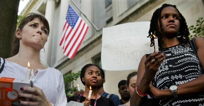 This leaked FBI document has black protesters worried they're under surveillance