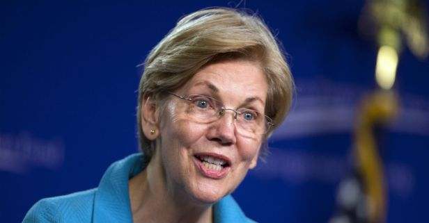 Elizabeth Warren's female employees allegedly make less on average than the men