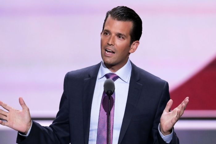 "Donald Trump Jr. bashes London Mayor Sadiq Khan for having called terror ""part of living in a big city"""