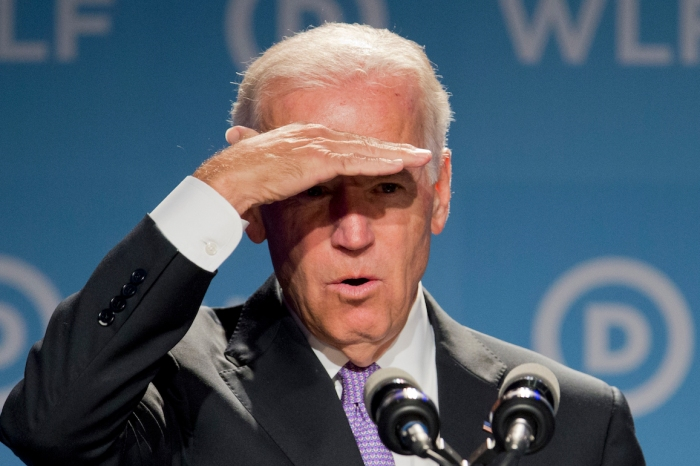 Joe Biden continued to be critical of Hillary Clinton in his latest appearance