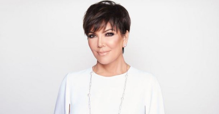 Kris Jenner shares photo of her new platinum blonde hair, and the internet responded