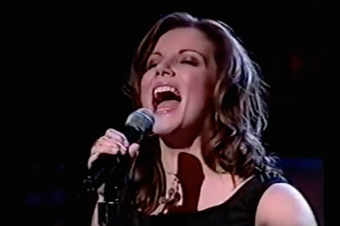 Hearing Martina McBride nail this patriotic tune makes us all proud to be Americans