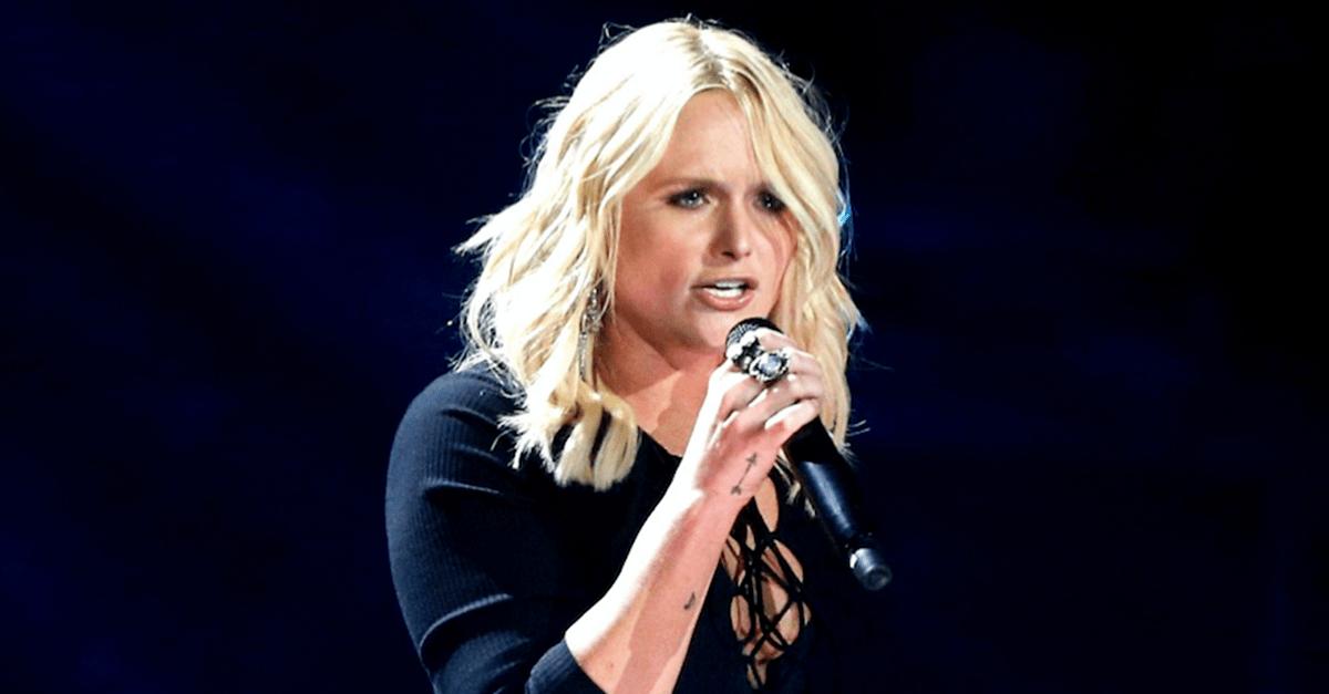 Here's why Miranda Lambert stopped her performance of this hit song