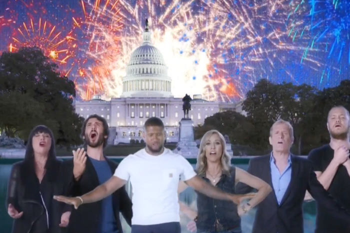 Musicians hilariously ask politicians to stop using their songs in star-studded music video