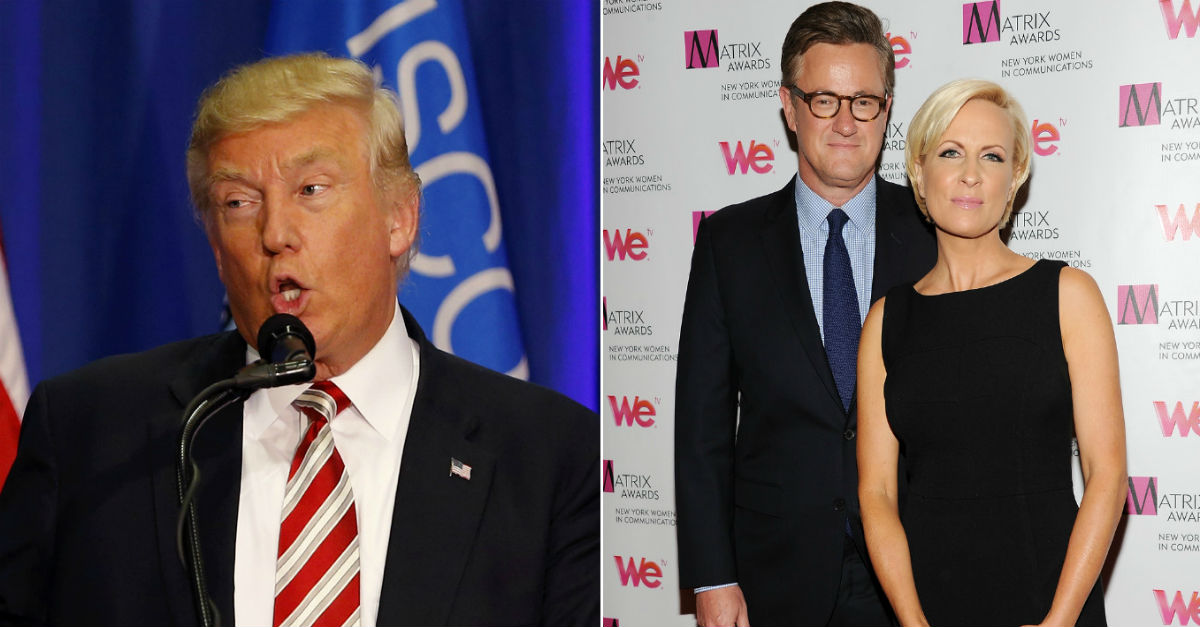 Joe Scarborough casually makes a shocking claim about President Trump's health