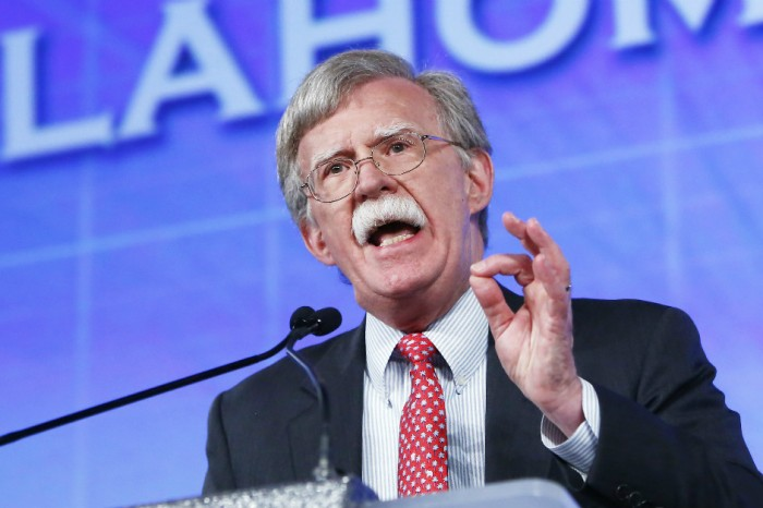 In a crowded field, John Bolton may deserve the award for most insane election conspiracy theory